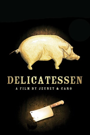 movie poster for Delicatessen
