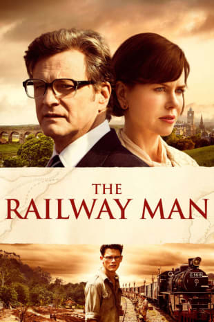 movie poster for The Railway Man