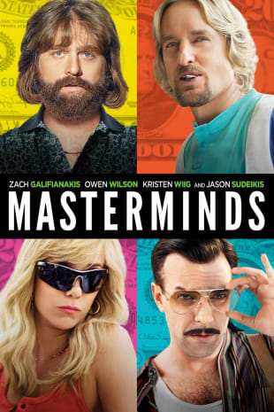 movie poster for Masterminds