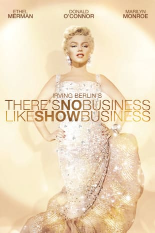 movie poster for There's No Business Like Show Business