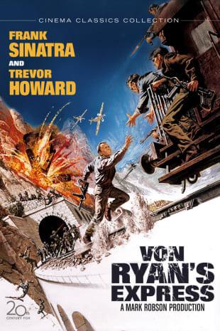movie poster for Von Ryan's Express