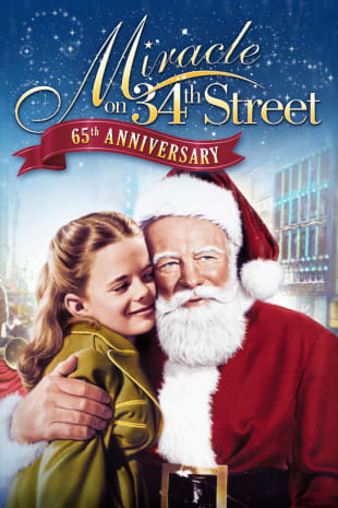 movie poster for Miracle On 34th Street (1947)