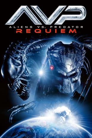 movie poster for Aliens vs. Predator - Requiem
