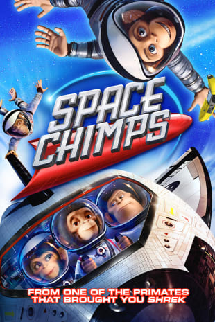 movie poster for Space Chimps