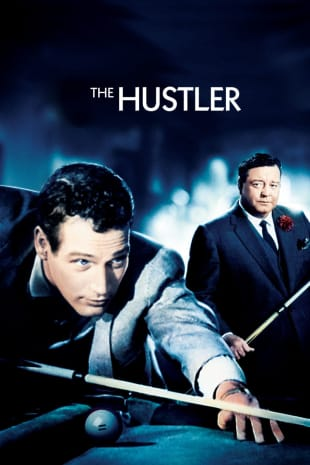 movie poster for The Hustler