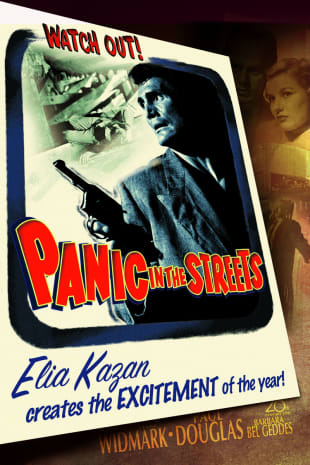 movie poster for Panic In The Streets