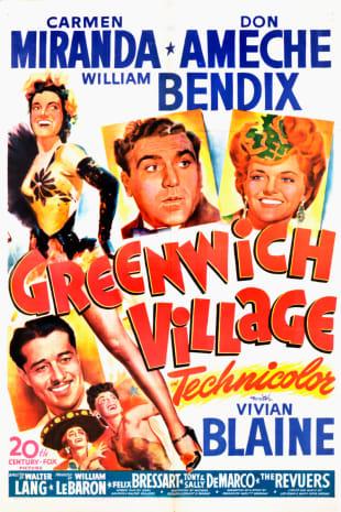 movie poster for Greenwich Village