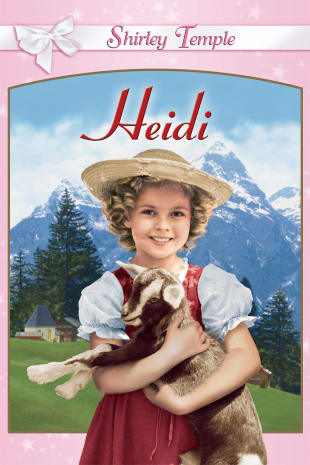 movie poster for Heidi (1937)