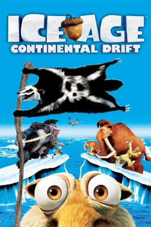 movie poster for Ice Age: Continental Drift