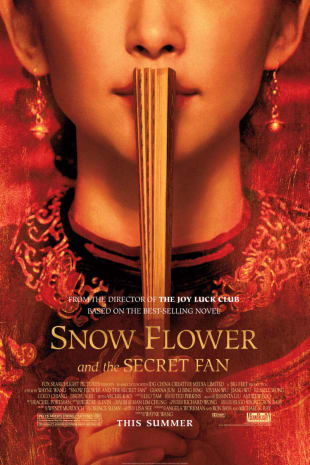 movie poster for Snow Flower And The Secret Fan