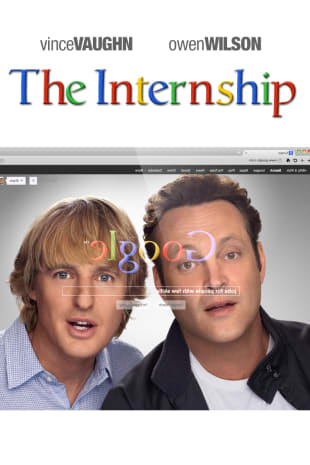 movie poster for The Internship