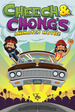 movie poster for Cheech & Chong's Animated Movie