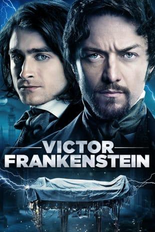 movie poster for Victor Frankenstein