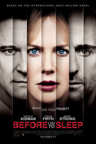 movie poster for Before I Go to Sleep