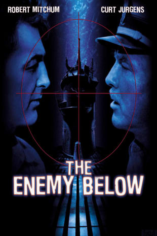 movie poster for The Enemy Below