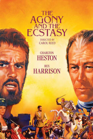 movie poster for The Agony And The Ecstasy