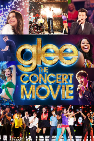 movie poster for Glee The 3D Concert Movie