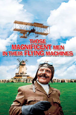 movie poster for Those Magnificent Men In Their Flying Machines (1965)