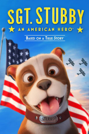 movie poster for Sgt. Stubby: An American Hero