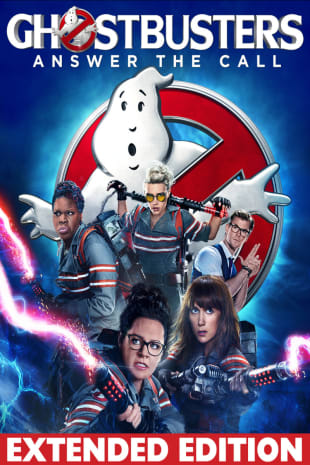 movie poster for Ghostbusters (2016) Extended Edition