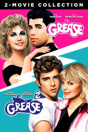 movie poster for Grease 1 & 2 Bundle