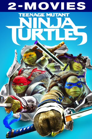movie poster for Teenage Mutant Ninja Turtles Double Feature