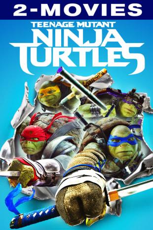 movie poster for Teenage Mutant Ninja Turtles Double Feature