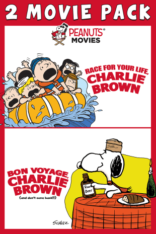 movie poster for Charlie Brown Double Feature