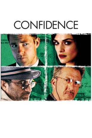 movie poster for Confidence