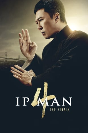 movie poster for Ip Man 4