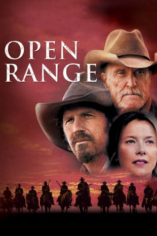 movie poster for Open Range