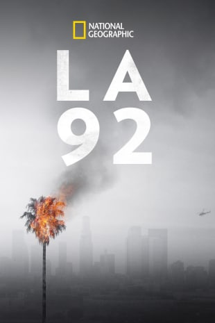 movie poster for LA 92