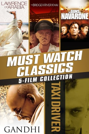 movie poster for Must-Watch Classics 5-Film Collection