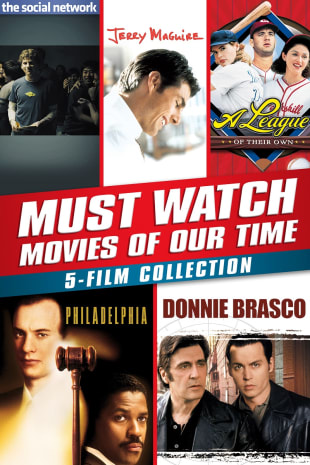 movie poster for Must-Watch Movies Of Our Time 5-Film Collection