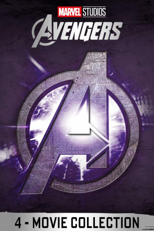 movie poster for The Avengers 4-Movie Collection