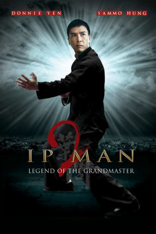 movie poster for Ip Man 2: Legend Of The Grandmaster