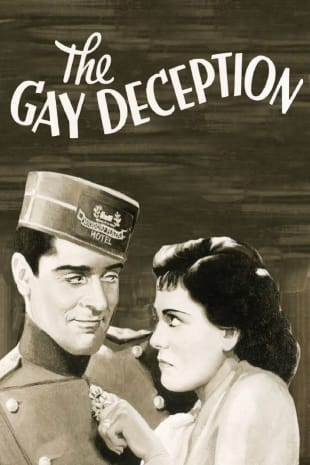 movie poster for The Gay Deception