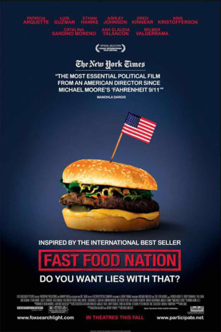 movie poster for Fast Food Nation