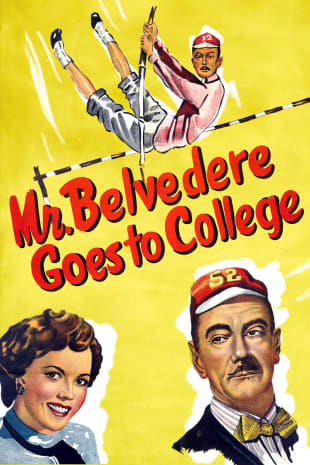 movie poster for Mr. Belvedere Goes To College