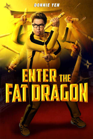 movie poster for Enter The Fat Dragon