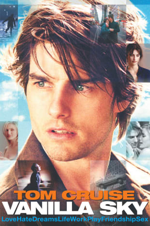 movie poster for Vanilla Sky