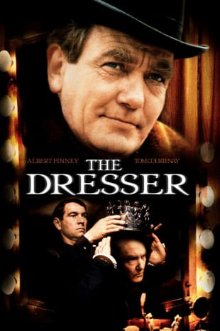 movie poster for The Dresser