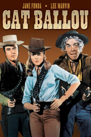 movie poster for Cat Ballou