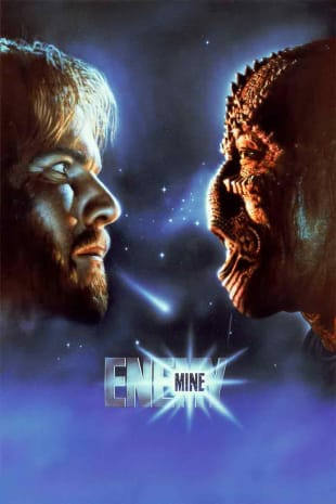 movie poster for Enemy Mine