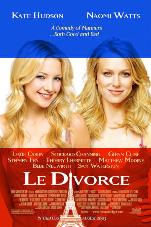 movie poster for Le Divorce