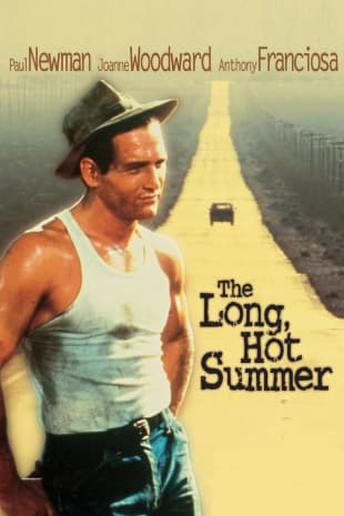 movie poster for The Long, Hot Summer