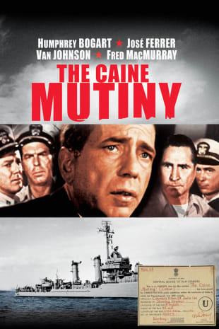 movie poster for The Caine Mutiny