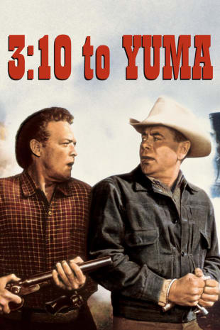 movie poster for 3:10 to Yuma (1957)