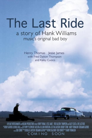 movie poster for The Last Ride