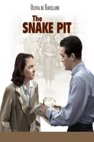 movie poster for The Snake Pit